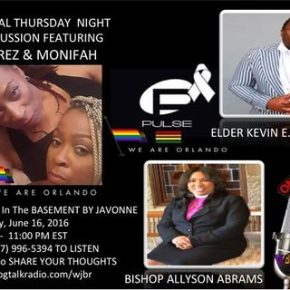 Let's Talk  #Pulse In the Basement with Special Guests! Call In and Share