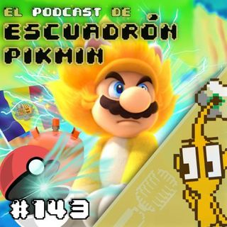 Podcast 143 -  Mario se transforma en Super Saiyan