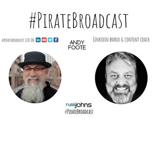 Catch Andy Foote on the PirateBroadcast