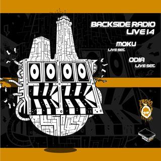 Backside Radio Live14_ Moku + Odia Live Set.