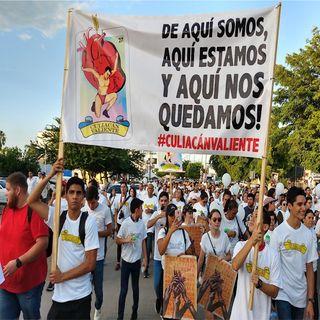 Marchan por la paz en Culiacán