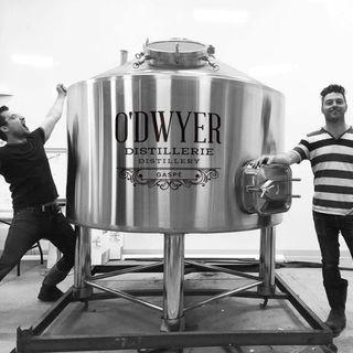 Michael Briand et Frédéric Jacques : distillateurs