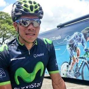 Angarita tras etapa 1 Vuelta al Valle