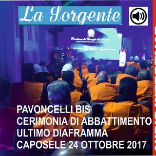 Pavoncelli bis - Cerimonia di apertura ultimo diaframma