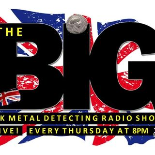 Stephen Pettican on the BIG Metal Detecting radio show