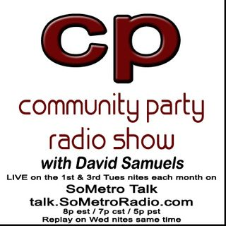 Community Party Radio Hosted by David Samuels with Mary Sanders February 7 2017 Show 41 guests Janet Frazao - Conaci and Toni Taylor