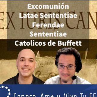 Episodio 293: 🚫Excomuniones latae sententiae y ferendae sententiae🤷♀️Católicos de buffet. Nos habla Carlos Sacasa