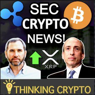 SEC Gary Gensler Crypto Regulations - Ripple CEO XRP Lawsuit - Wells Fargo Bitcoin Investing