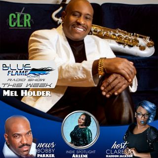 BLUE FLAME RADIO - MEL HOLDER INT