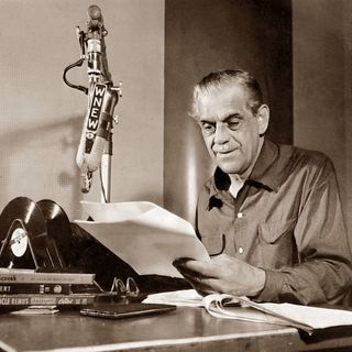 Classic Radio Theater for April 6, 2021 Hour 1 - Boris Karloff stars in Cat Wife