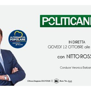 Radio Tele Locale - POLITICANDO con Nitto Rosso