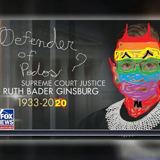 Ruth Ginsburg is Dead....   Also Happy Birthday Richard Grenell From The Qiew Crew
