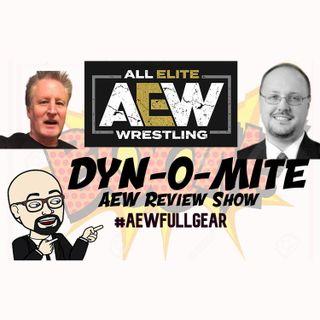STS POD DYN-O-MITE #AEWFullGear Ep 22, Episode 385