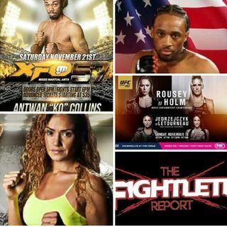 Fightlete Report November 10th