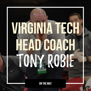 Virginia Tech head coach Tony Robie - OTM560