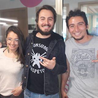 La banda colombiana, 'La vieja Trampa' visitó Brunch Informativo