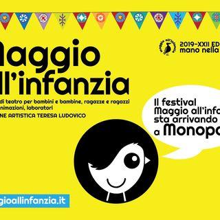 Maggio all'Infanzia: intervista all'assessore Perricci, Sosta Palmizi e I Nuovi Scalzi, Giorgio Testa e Sara Ferrari
