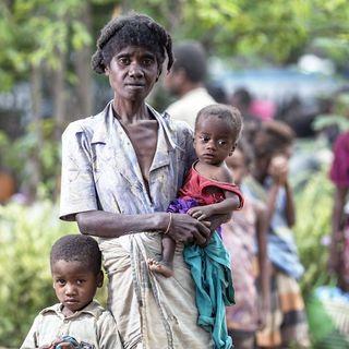 Africana: siccità e fame in Madagascar