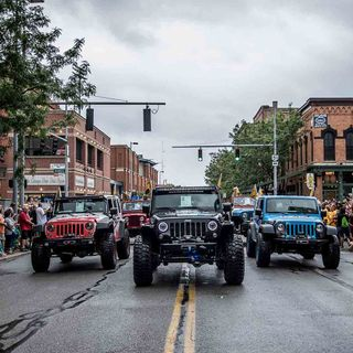 Jerry Huber With Toledo Jeep Fest