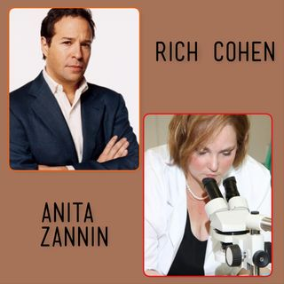 Rich Cohen THE LAST PIRATE OF NY- Anita Zannin Blood Stain Pattern Analysis Expert