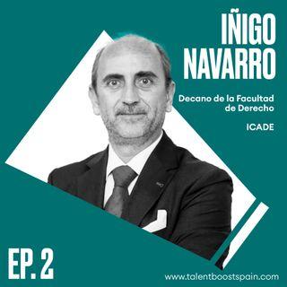 Episodio 02: ¿Puede desaparecer la profesión de abogado? El rol de la universidad en la abogacía del futuro con Iñigo Navarro