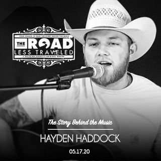 Hayden Haddock: Blazing his own trail