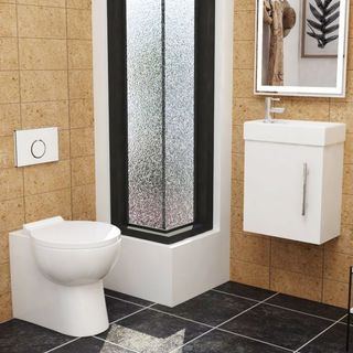 SAVE SPACE WITH YOUR NEW CLOAKROOM SUITE IN BATHROOM