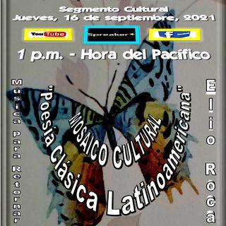 Mosaico Cultural - Los poetas clásicos latinoamericanos * Canciones en la voz de Elio Roca - Argentina