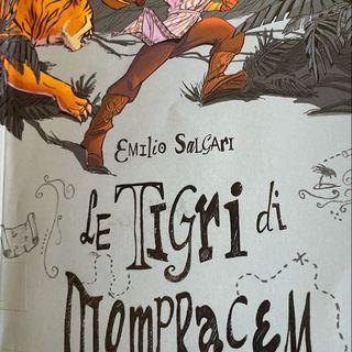 """Cap. 25 """"A Mompracem"""" da Le tigri di Mompracem di E.Salgari"""
