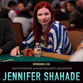 #18 Jennifer Shahade: Team PokerStars, Author, Podcaster, and Speaker