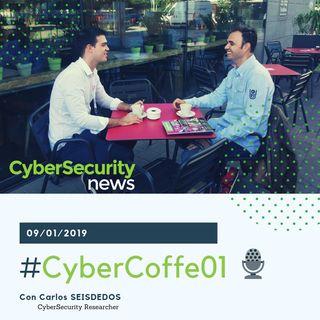 #CyberCofee01 con Carlos Seisdedos