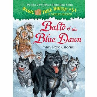 Langston's Library: 04 Book Review about Magic Tree House Balto and the Blue Dawn with Special Guest - Todd
