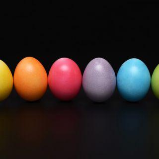 Tutti i colori di questa strana Pasqua