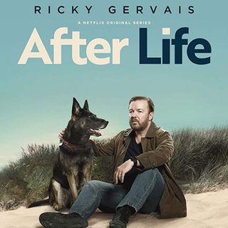 Review of After Life Series 1 by Ricky Gervais. Review written & performed by Phil Woods