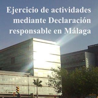 Declaración responsable en Málaga
