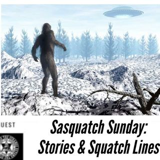 Sasquatch Sunday: Stories & Squatch Lines 9-27-20