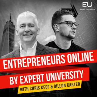 Entrepreneurs Online Podcast Interview Interview with Dillon Carter of Aura