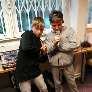 D Man and G Man show live from the Acorn Centre