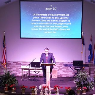Pastor Joe sermon about a Savior coming