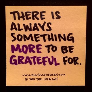 More Grateful : BYS 321