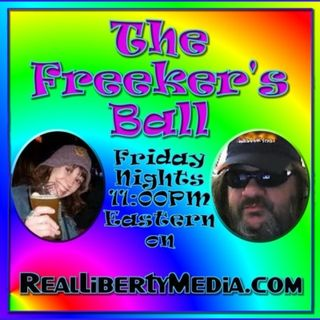 The Freeker's Ball Podcast: 2019-07-12 - #Trump #Facebook #BitCoin #Area51 #Marijuana #BenDover