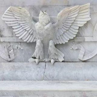 INBAL analiza daño al águila del Hemiciclo a Juárez