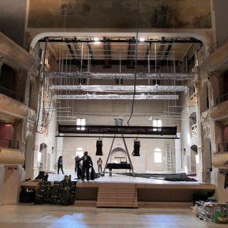 Teatro Civico, al via il restauro di loggione e seconda galleria. Lavori per 1,15 milioni