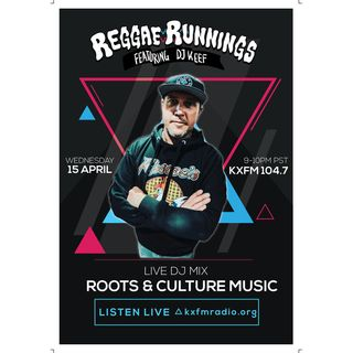Reggae Runnings Radio | DJ Keef - Live Roots & Culture Mix