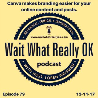 Canva makes branding easier for your online content and posts.