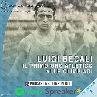 Luigi Beccali - Il primo oro atletico alle Olimpiadi