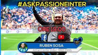 """ESCLUSIVA! Ruben Sosa: """"Amo l'Inter. Bergomi? Pregava alle 3 di notte..."""""""