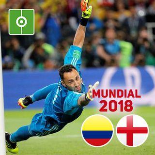 Revive el partido: Colombia-Inglaterra