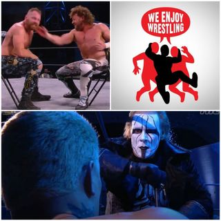 Ep 144 - Sitting and Hitting (AEW Dynamite Winter is Coming Recap)