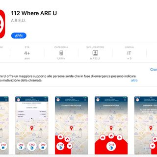 112: allarme e sicurezza in tasca